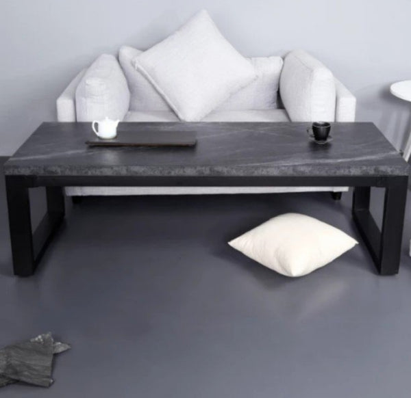 JAVAN Black Mica Rock Coffee Table