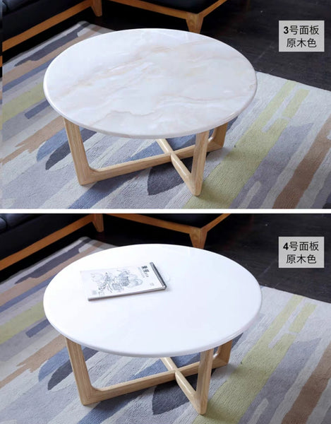 OTIS Round Marble Coffee Table