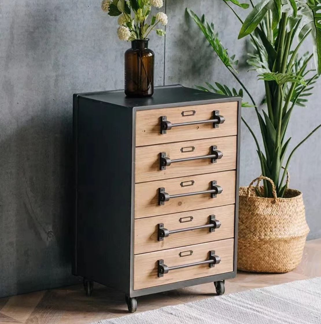 STANBY Modern Industrial Chest of Drawers