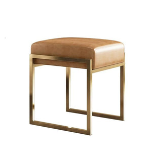 TOBIAS Modern Faux Leather Stool