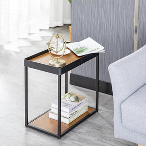 TREVOR Mixed Element Deep Dish Coffee Table
