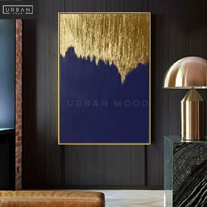 TOLEDO Gold Shimmer Canvas Wall Art
