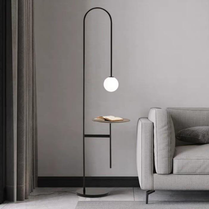 VALLE Minimalist LED Lamp Side Table
