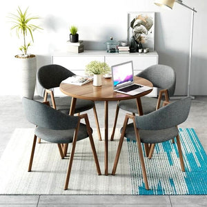 WEIN Modern Round Dining Table Set