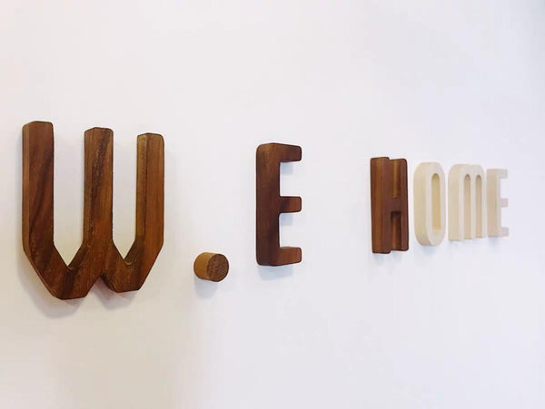 WILLOW Solid Wood Wall Stencil / Label