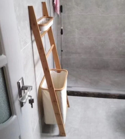 WALTON Rustic Bathroom Utility Rack