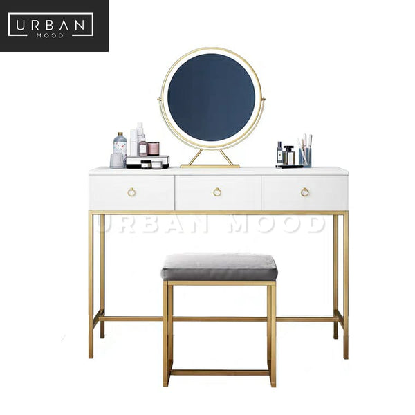 NUBIS Modern Victorian Vanity Table
