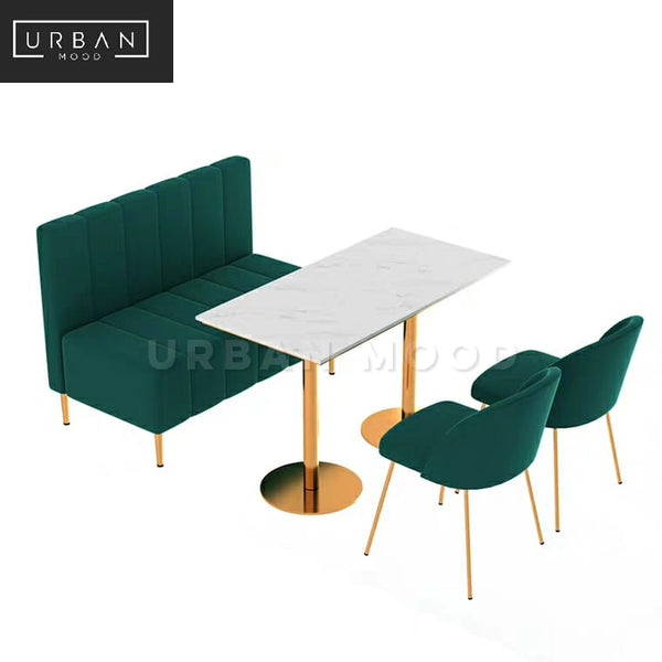 COASTAL Modern Dining Table & Bench