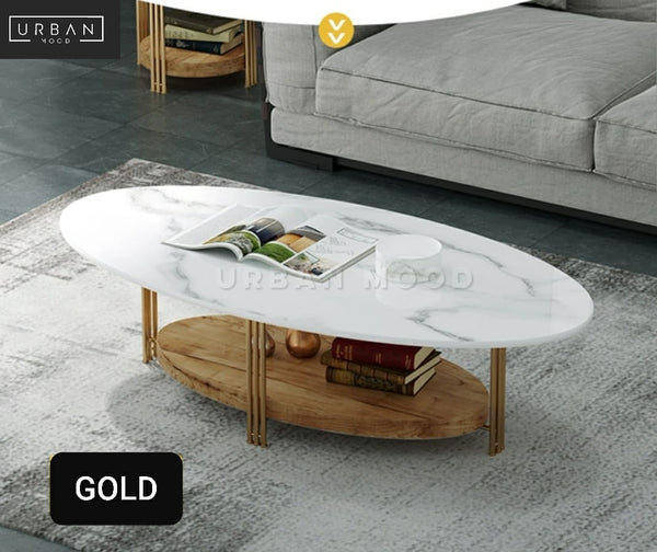 STERLING Modern Marble TV Console / Coffee Table