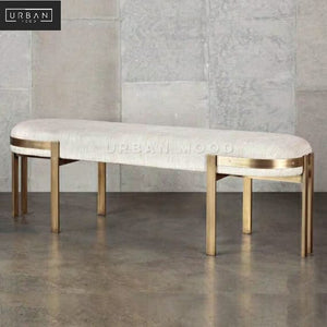 TROY Classic Fabric Dining Bench