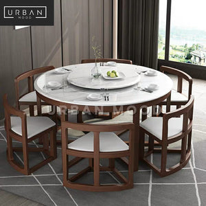 MICAH Oriental Dining Table & Chairs