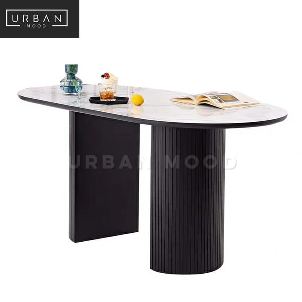 ADVIK Postmodern Marble Dining Table