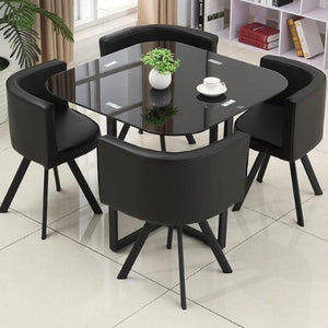 ZENTARO Marble Dining Table And Chairs