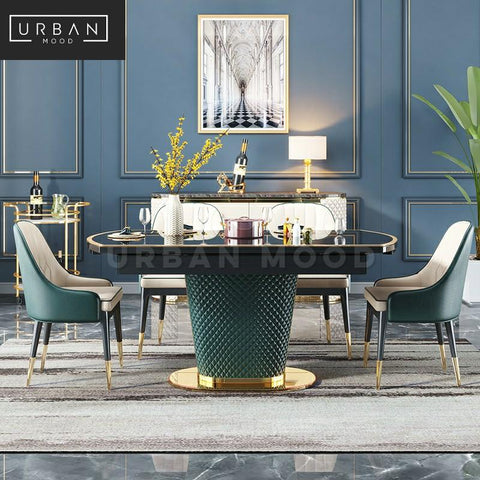 ZURICH Modern Extendable Dining Table & Chairs