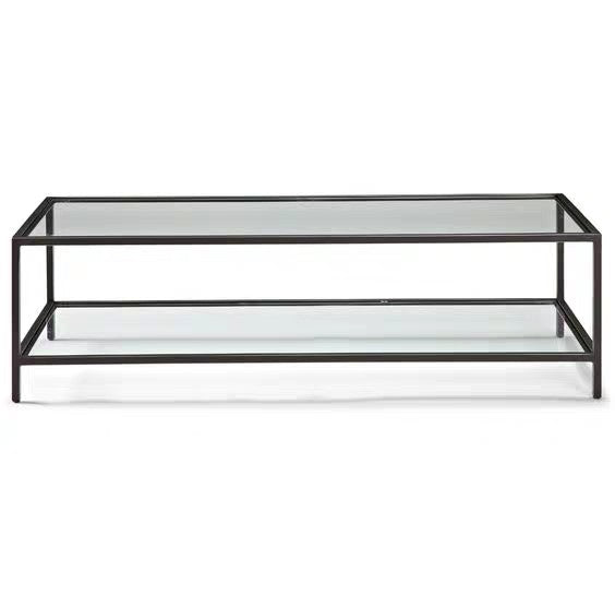 AURELIA Minimalist Glass Coffee Table