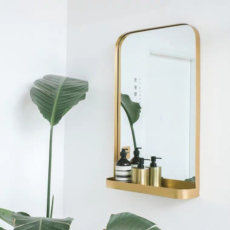 BOLEYN Classic Gold Wall Mirror