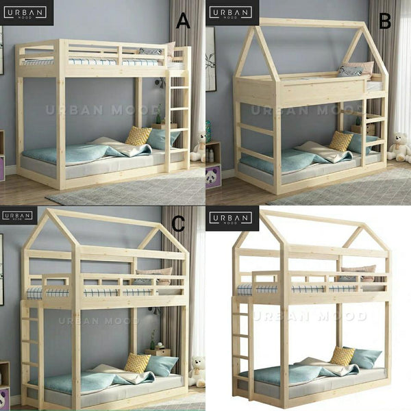 CAITLYN Children's Cottage Bunk Bed
