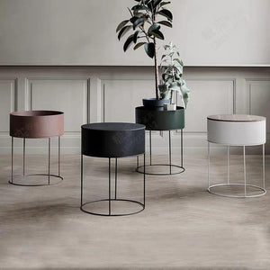 FREJA Round Planter Display Stand
