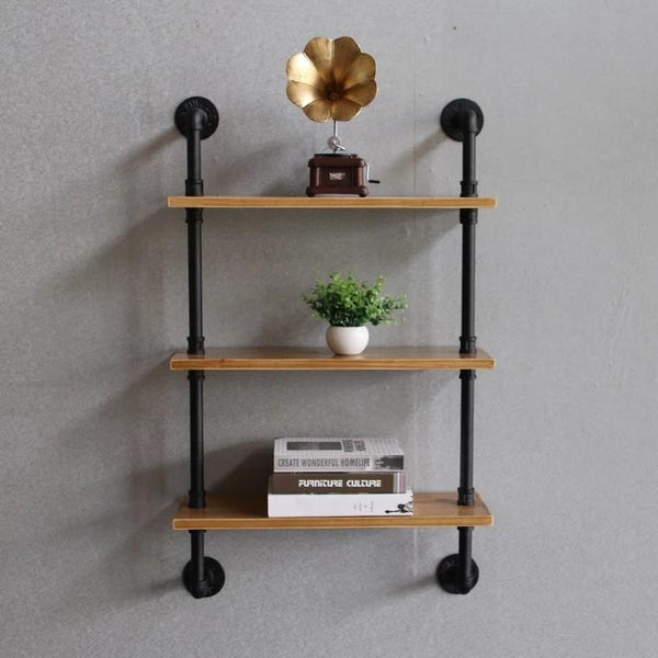 JAKOB Modern Industrial Wall Rack