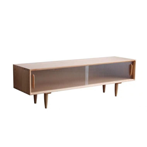 KIPLER Rustic Solid Wood TV Console