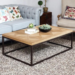 KOBE Solid Wood Turgon Coffee Table