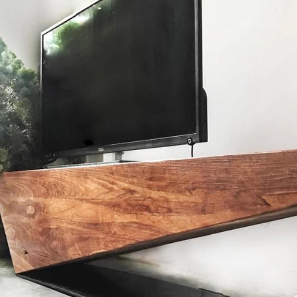 LANGHAM Rustic Solid Wood TV Console
