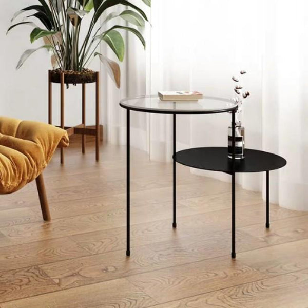 LEIGH Minimalist Wireframe Accent Side Table