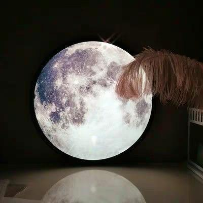 LUNA Moon Mirror Lamp