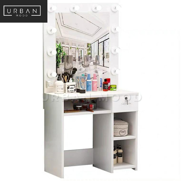 MOULIN Hollywood Spotlight Dressing Table