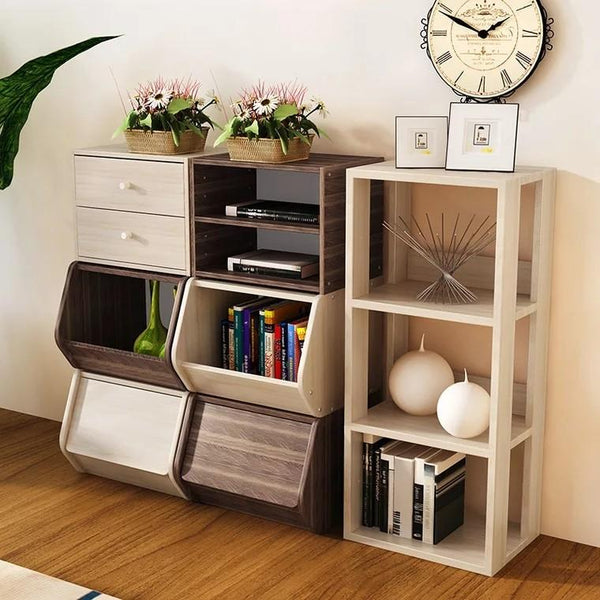 NOOK Modular Wooden Storage Shelves