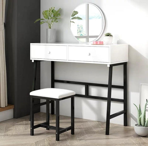 REGENT Modern Vanity Mirror Table Set