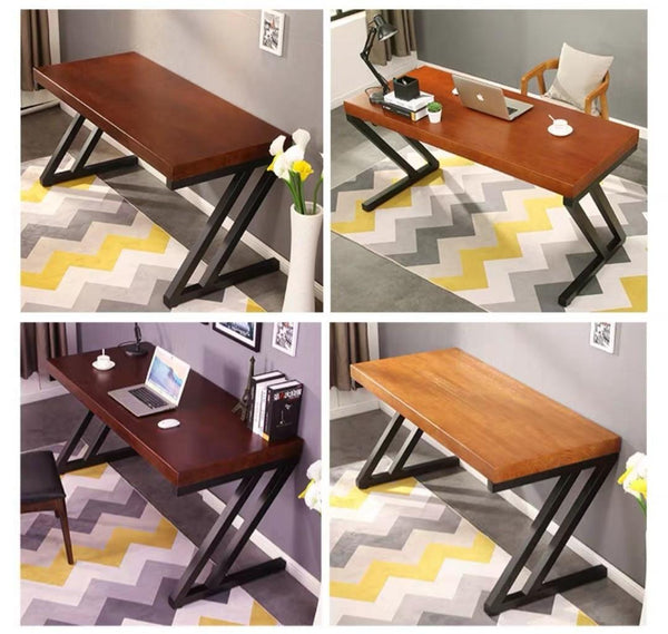TANSY Modern Rustic Office Study Table
