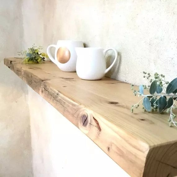 TUCKER Solid Wood Floating Shelf