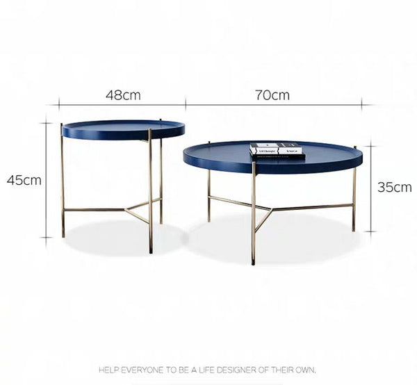 VALOR Modern Round Coffee Table