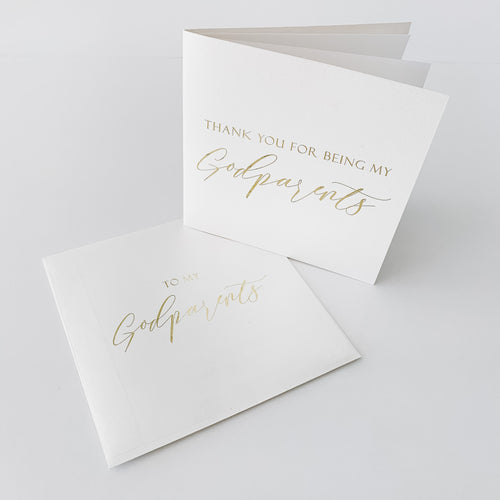 Foiled Personalised Gift Cards
