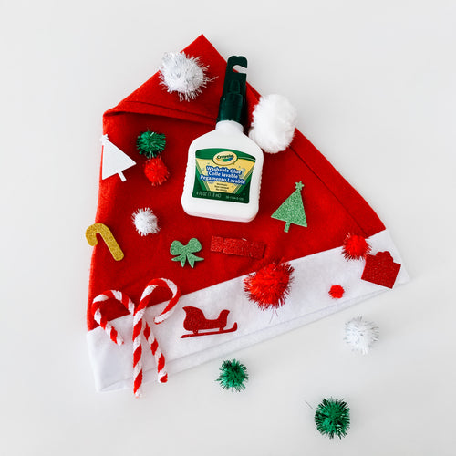 Santa Hat Decorating Kit