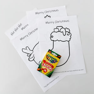 Christmas Colouring Pack