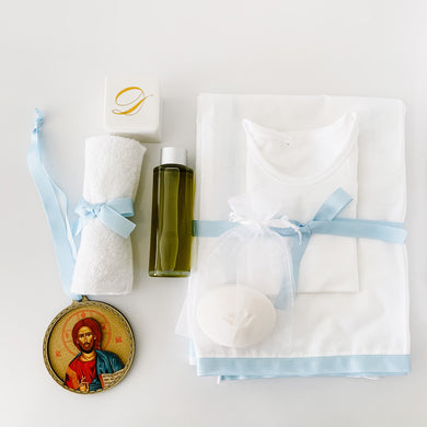 Orthodox Christening Box Contents Package