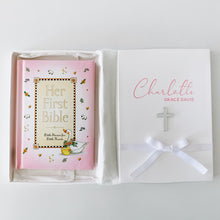 Load image into Gallery viewer, Her First Bible - Personalised