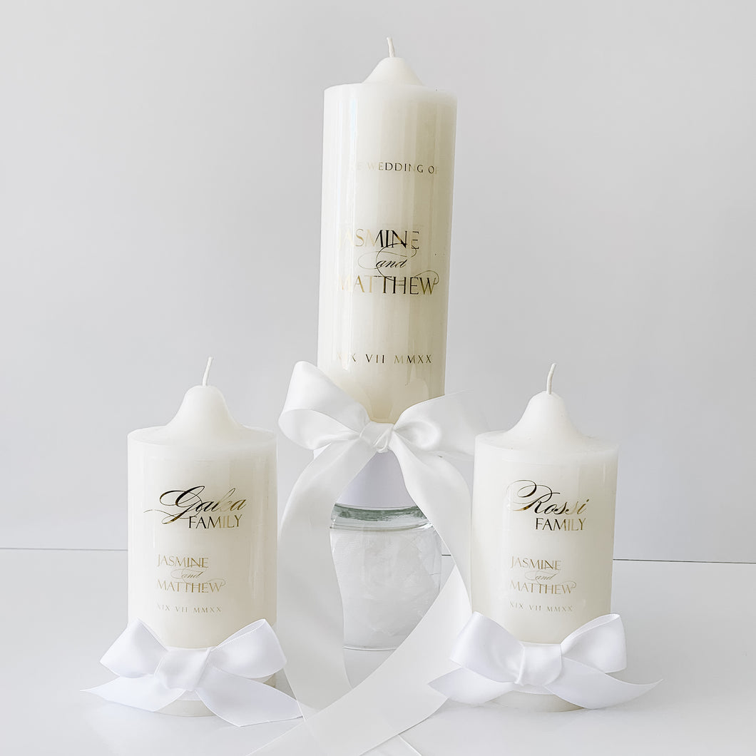 Wedding Candle Catholic Unity Candle