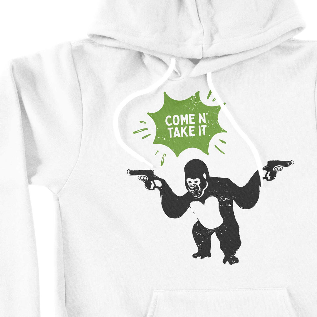 Come N' Take It - Gorilla Unisex hoodie