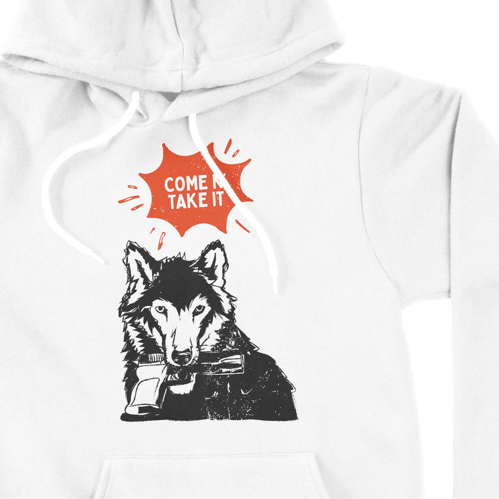 Come N' Take It - Wolf Unisex hoodie