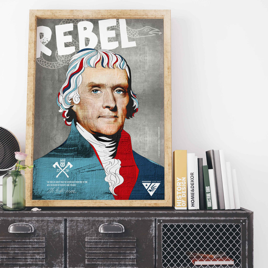 "18""x24"" Thomas Jefferson Poster"