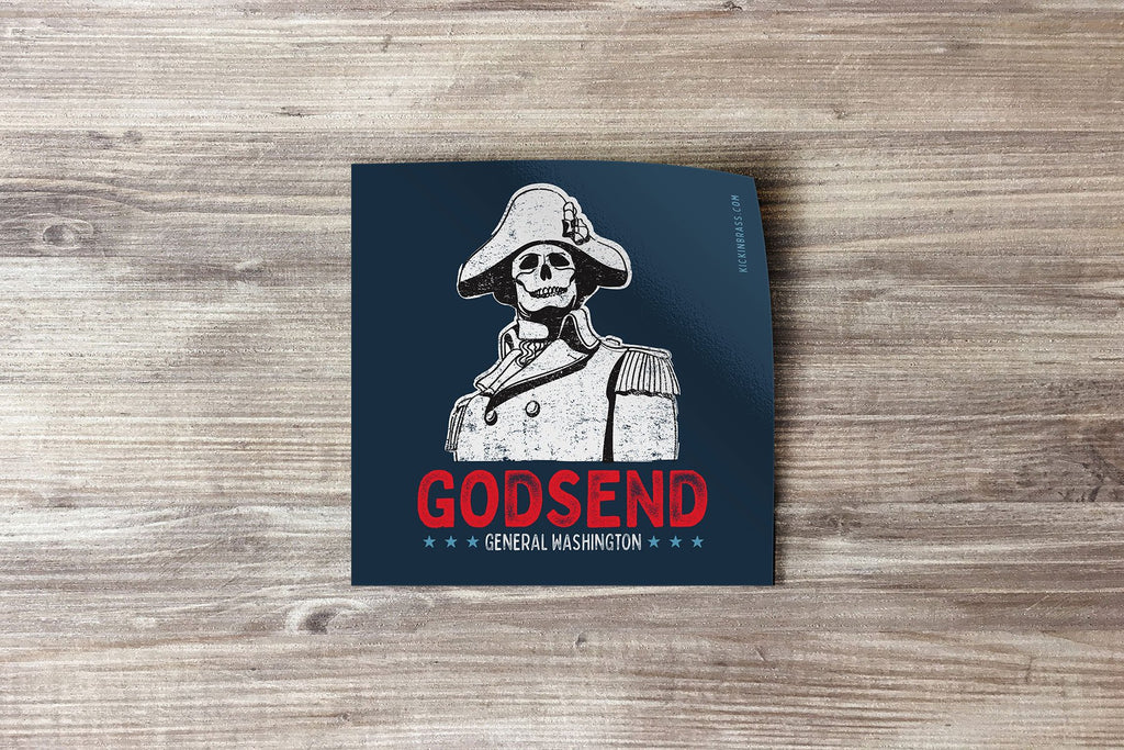 Godsend 3x3 Sticker