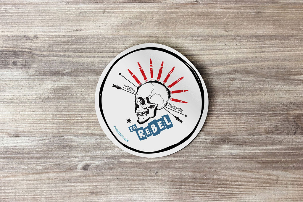 Liberty's Marksman 3x3 Sticker