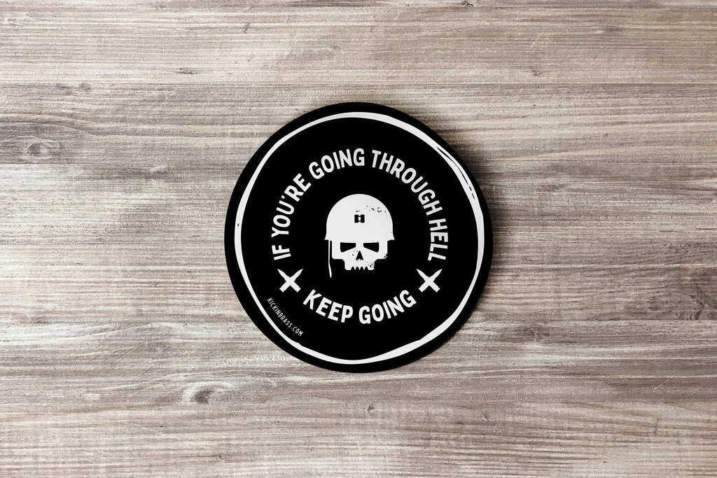 Keep Going 3x3 Sticker