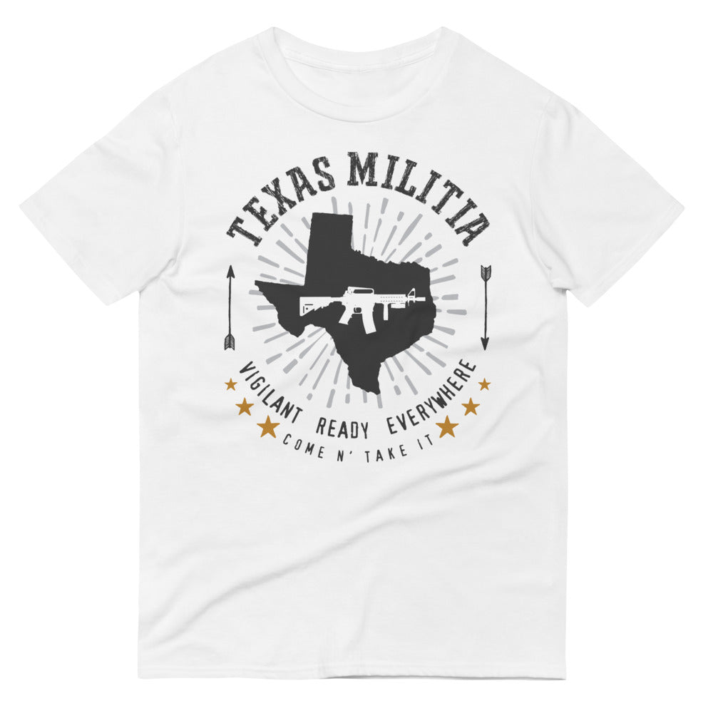 Texas Militia Short-Sleeve T-Shirt