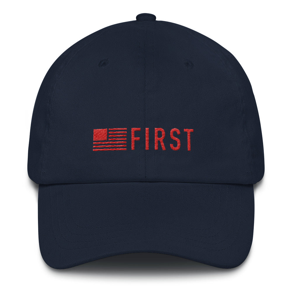 America First Dad hat