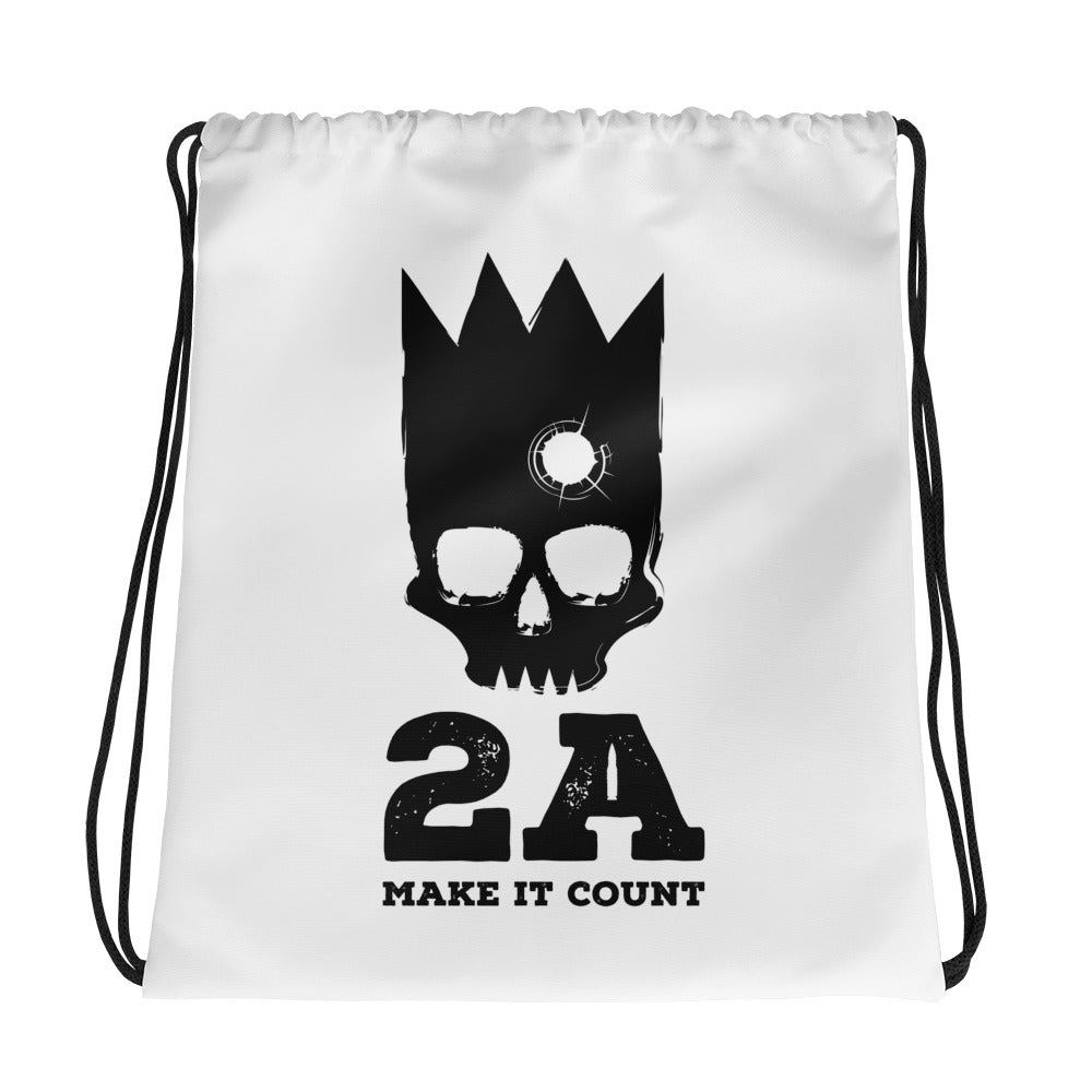 Dead King Drawstring bag
