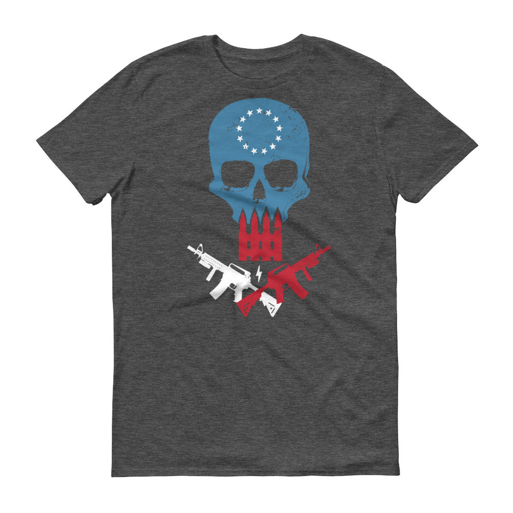 Betsy Ross Skull Short-Sleeve T-Shirt